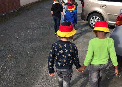 Ersten Spaziergang